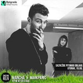 Mancha b2b Mark Panic Intro Set @ The Tube Belgrade 12.03.2016