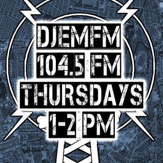 DJEM.FM07 - DnB Mash Up Society Crew b2b LIVE 104.5