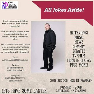 All Jokes Aside - Nick interviews Ron Shillingford - 12/11/2016