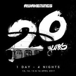Joris Voorn b2b Kölsch - Live @ Awakenings 20 Years - Gashouder Amsterdam, Netherlands - 16.04.2017