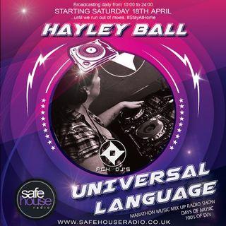 Hayley Ball P.C.H. Djs Indoors 3 Safehouse Radio April 2020