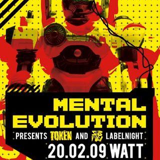 Techno Scene Classic : James Ruskin - Live @ Mental Evolution Rotterdam 20.02.2009
