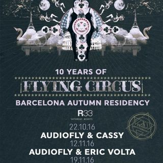 Audiofly - live at R33 (Barcelona) - November 2016