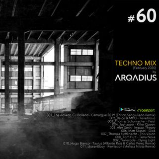 #60 - Techno Mix (February 2020)