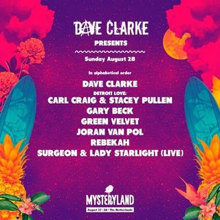 Dave Clarke - Live at Mysteryland 2016 (Netherlands) - 28-Aug-2016
