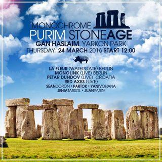 Petar Dundov -Live- (Music Man Records) @ Purim Stoneage, The Rocks Garden - Tel Aviv (24.03.2016)