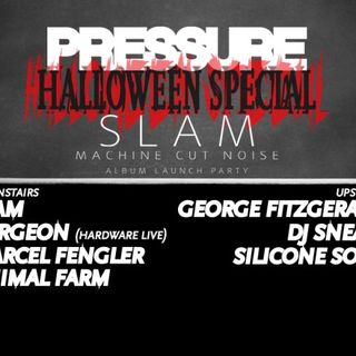 Surgeon (Hardware Live) - live at Pressure Halloween Special (SWG3, Glasgow) - 28-Oct-2016
