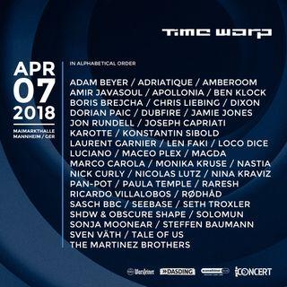 Nina Kraviz - Live at Time Warp 2018 (Maimarkthalle, Mannheim) - 07-Apr-2018