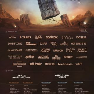 Stephan Bodzin - Live at Ultra Music Festival, Resistance Stage (WMC 2017, Miami) - 26-Mar-2017