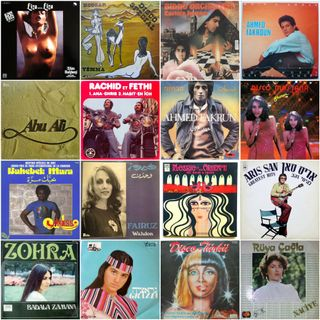 Middle Eastern & Maghreb Disco Funk from the Golden Era (1975-1985)