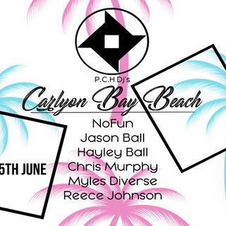 Hayley Ball P.C.H Djs Carlyon Bay Beach June