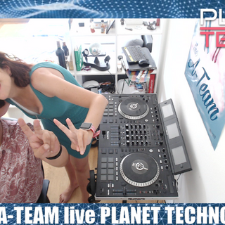 The A Team - Planet techno 05 brutal mix Perlita white birthday