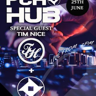 P.C.H Djs Friday night live stream 25th June with special guest Tim Nice