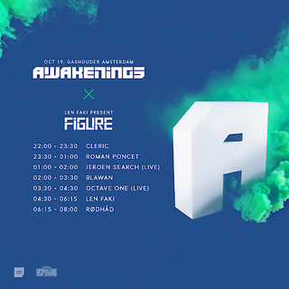 Len Faki - live at Awakenings x Figure Nacht (Gashouder, Amsterdam) - 19-Oct-2016