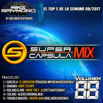 Super Capsula Mix - Dj Mike Raymond SCM 88