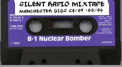 Silent Radio Gig Guide Mixtape 28/05/2018 - 03/06/2018