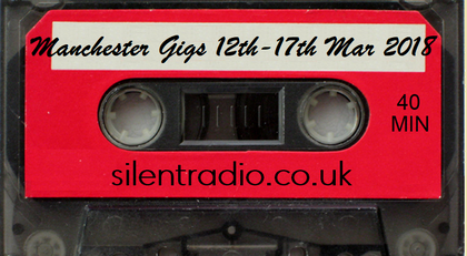 Silent Radio Gig Guide Mixtape  09/03/2018