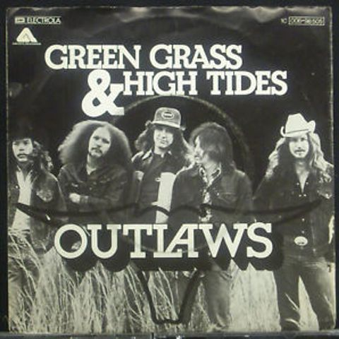 green grass and high tides