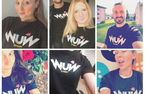 """Just 4 WuW Crew T's left! Grab yours now on """"No Artist Fee Friday"""" on Bandcamp"""