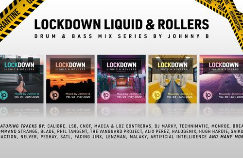 Lockdown Liquid & Rollers Drum & Bass Mix series