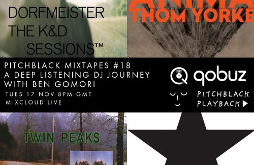 Listen to this week's Pitchblack Mixtapes x Qobuz feat. Caribou, Four Tet, Bowie