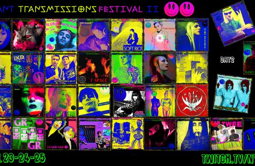 Day 2 of the Mutant transmissions Festival starts in 1.5 hours!