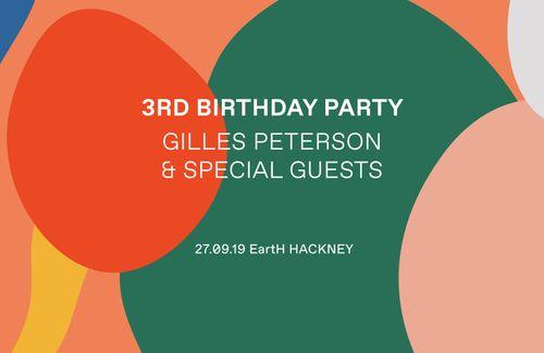 Worldwide FM: Third Birthday Party