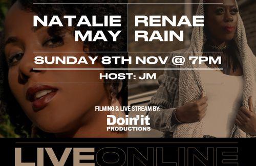 Global Soul Live Online: Renae Rain & Natale May