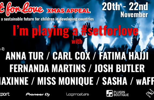 Playing Soulful House Set for #SetForLove XMAS Appeal