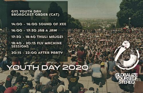 Youth Day Celebration Live Stream 16 June 2020 / 14:00 CAT