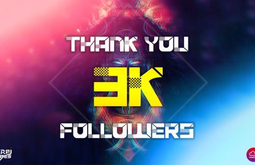 3k followers