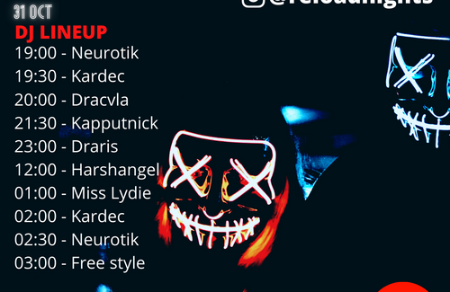 Reload | 28 days later: Halloween Party! 7 DJs on MixCloud Live