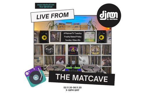 Mixcloud live schedule 02.11.20-08.11.20