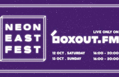 boxout.fm Pop up Radio x Neon East Fest 2019
