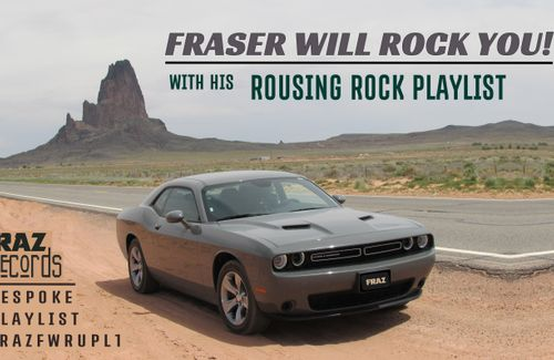 3. FRASER WILL ROCK YOU!