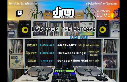 Mixcloud Live Streaming Schedule 26.10.20 - 01.11.20