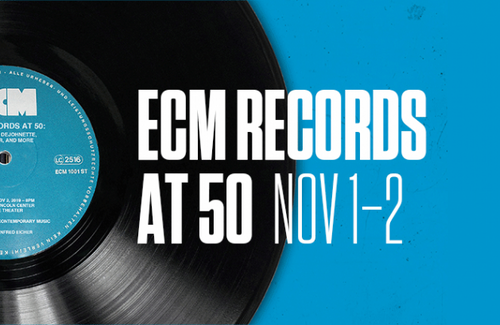 ECM at 50 - live now from NYC (8pm US EDT)