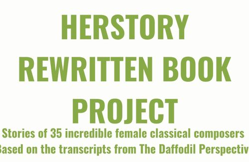 Herstory Rewritten book project & crowdfunding campaign