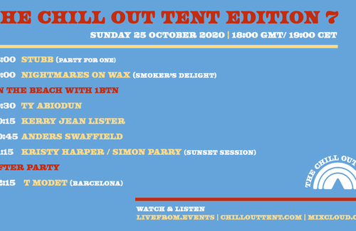 The Chill Out Tent Edition 7 x 1BTN Radio