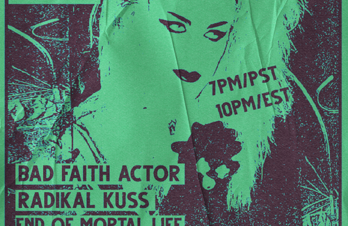 Strict Tempo 1/14! Bad Faith Actor, Radikal Kuss, End of Mortal Life, DJ Graftak