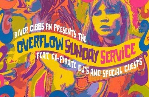 A new show on the Overflow Sunday Service on River Gibbs FM