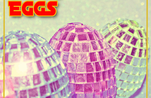 Wish you happy easter with Disco Eggs!!!