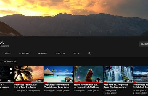 Mixes on Youtube and 2020 yearmixes!!