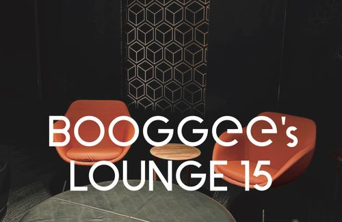 A brand new BOOGGEE's LOUNGE for your listening pleasure
