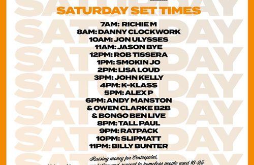 Clock Stock Weekender on 883 Centreforce DAB+ Radio