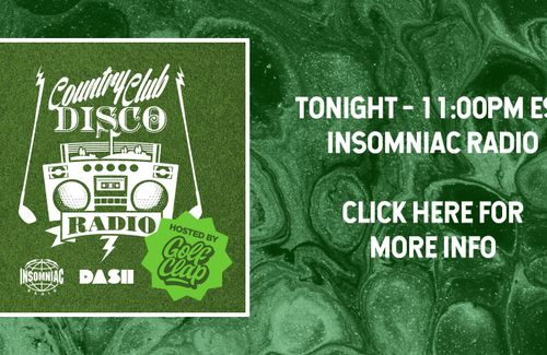 Tonight! Country Club Disco on Insomniac Radio - 11pm EST