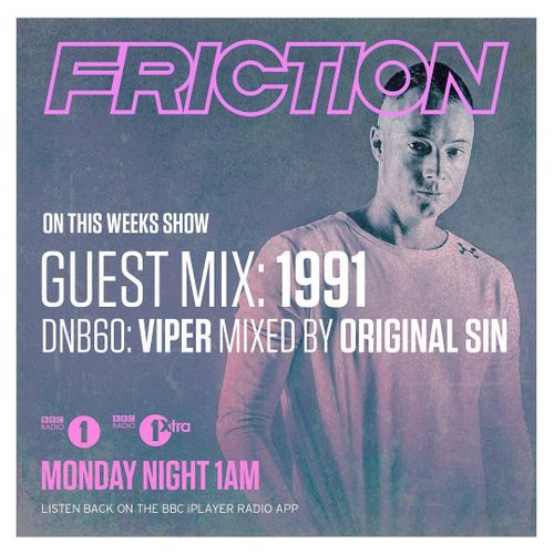 Download Friction - BBC Radio 1 (1991 & Original Sin Guest Mixes) (09-08-2016) mp3