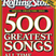 Shaken Not Stirred 29-12-10: the 100 all time best songs according to Rolling Stone magazine
