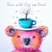Bear with Cup on Head