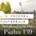 His Proposal Conference | Psalm 139